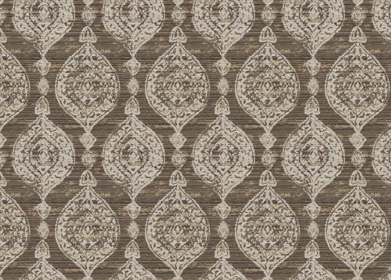 Lucera Mushroom Fabric By the Yard