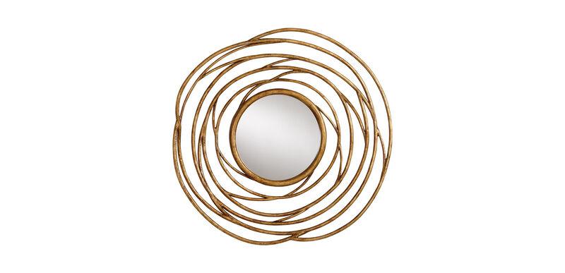 Spiral Twig Mirror
