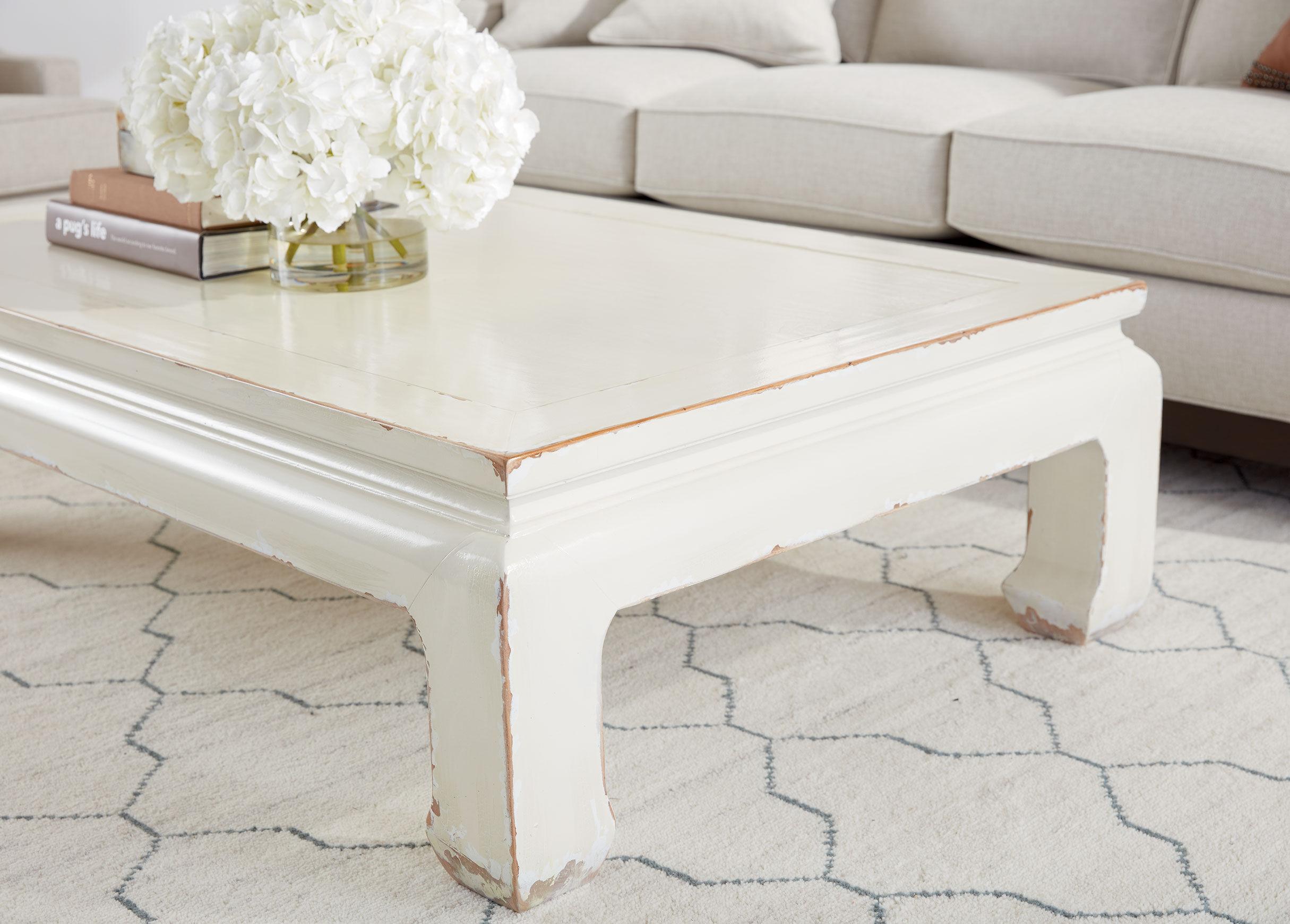 Dynasty Rectangular Coffee Table Tables Ethan Allen Rh Ethlen Com Henredon Ming