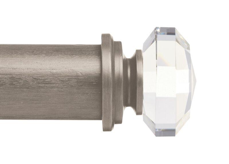 Hazel Crystal Finial, Platinum ,  , large_gray