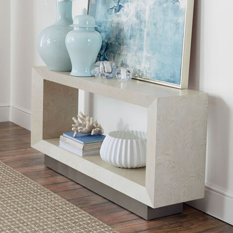 Braemore Rectangular Plinth-Base Console Table Product Tile Hover Image 368207