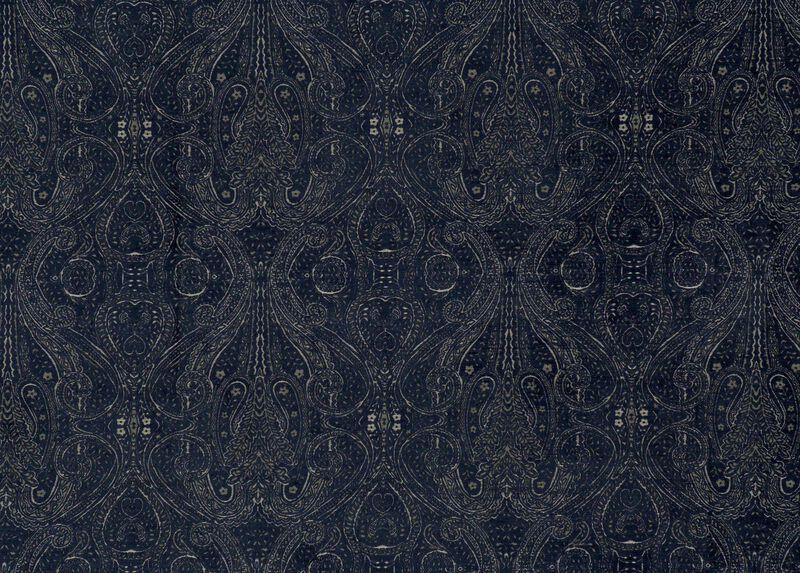 Regan Cobalt Fabric by the Yard