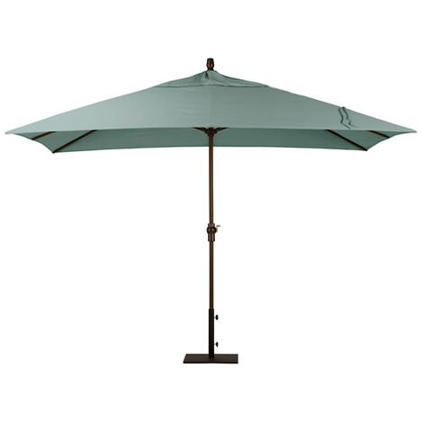 Spa Blue Rectangular Market Umbrella ,  , large