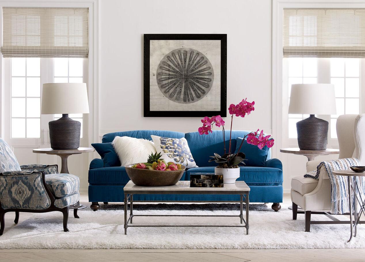 Oxford Sofa Sofas& Loveseats Ethan Allen