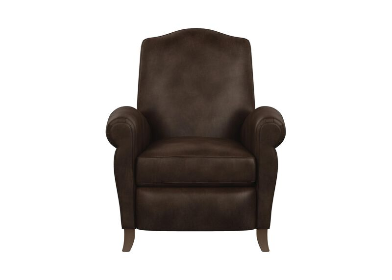 Paloma Leather Recliner ,  , large_gray