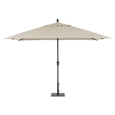 8' x 11' Single Vent Taupe Umbrella ,  , large