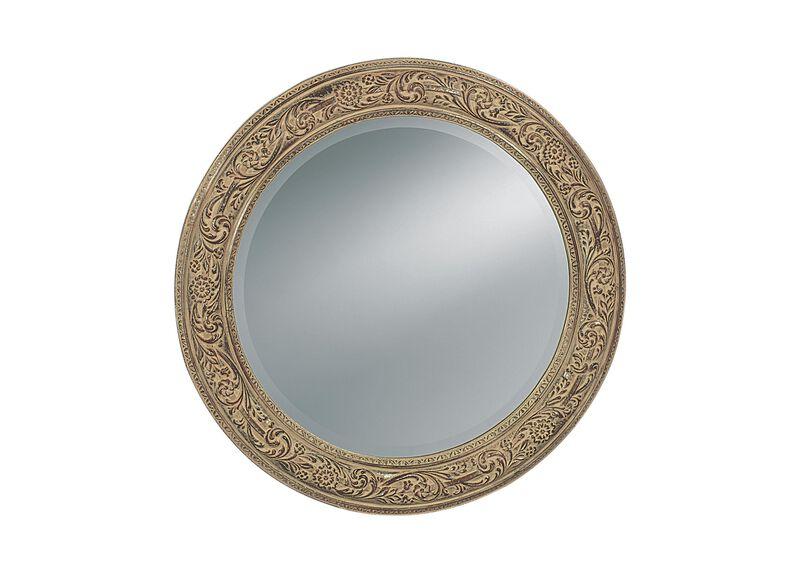 Ornately Framed Mirror