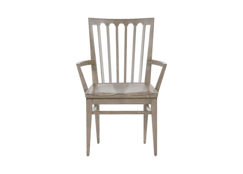 Benham Wood-Seat Armchair