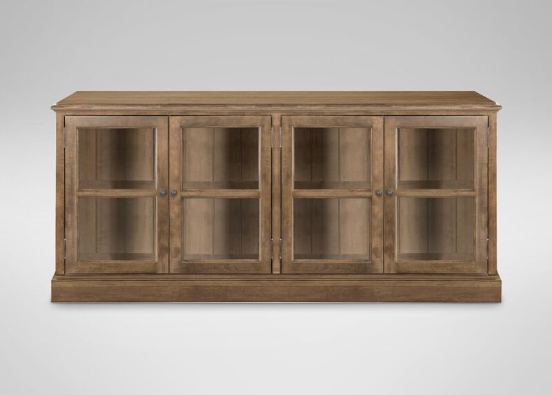 Sayville Four Glass Door Cabinet at Ethan Allen in Ormond Beach, FL | Tuggl