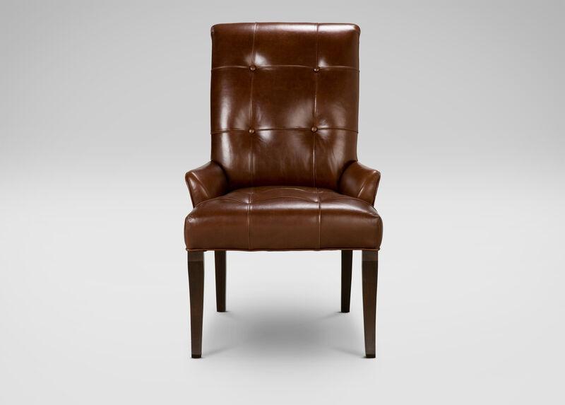 Verlaine Leather Armchair ,  , large_gray