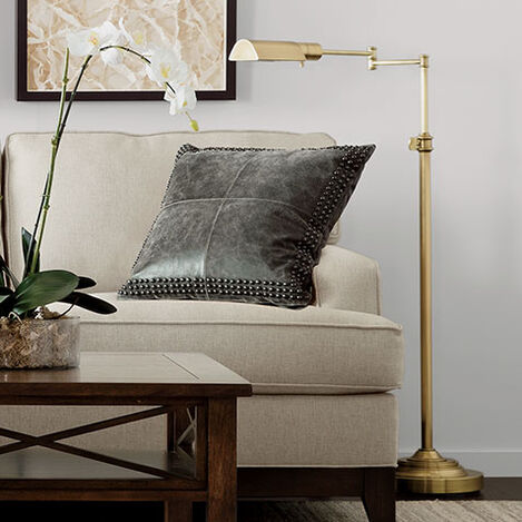 Brass Pharmacy Floor Lamp Product Tile Hover Image 092575
