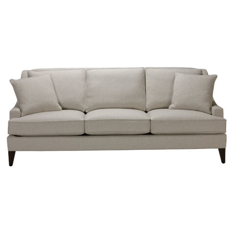 Shop Sofas and Loveseats Leather Couch Ethan Allen Ethan Allen