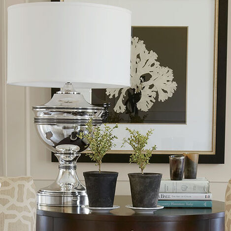 Otis Large Silver Table Lamp Product Tile Hover Image 097239