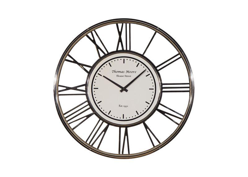 Large Nickel Wall Clock ,  , large_gray