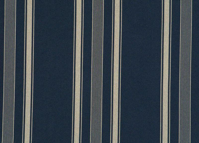 Landon Navy Fabric by the Yard