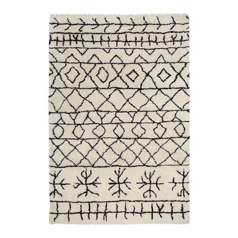 Primal Rug, Ivory/Black Product Tile Image 041554