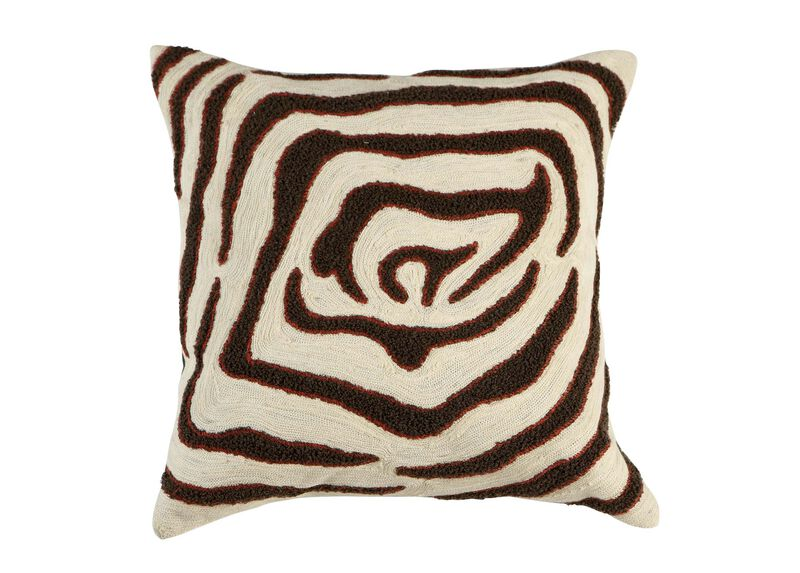 Modern Abstract Zebra Pillow ,  , large_gray