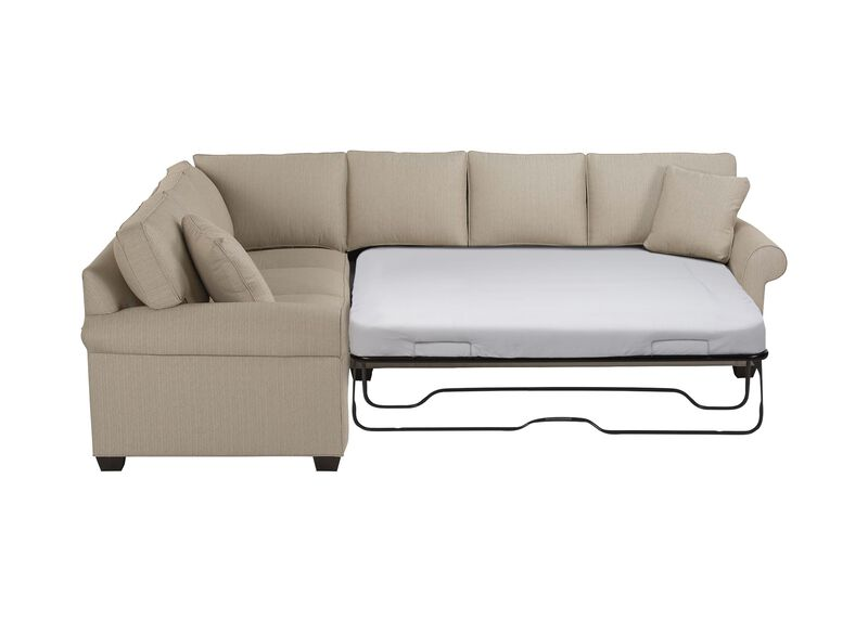 Bennett Roll-Arm Sleeper Sectional