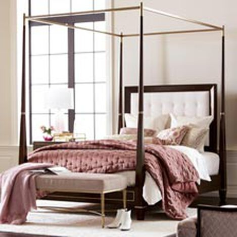 Andover Upholstered Poster Bed ,  , hover_image