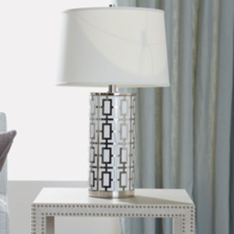 Geo Symmetric Table Lamp ,  , hover_image
