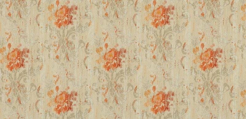 Aura Tangerine Fabric