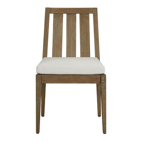 Bridgewater Cove Teak Dining Side Chair Product Tile Image 404050