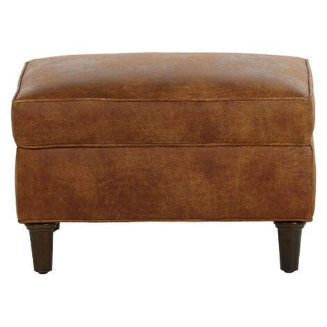 Malone Leather Ottoman ,  , large