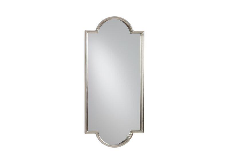 Jayne Silver Leaf Mirror