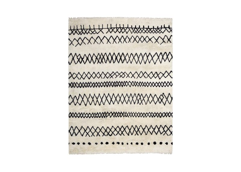 Intrinsik Rug, Ivory/Black ,  , large_gray
