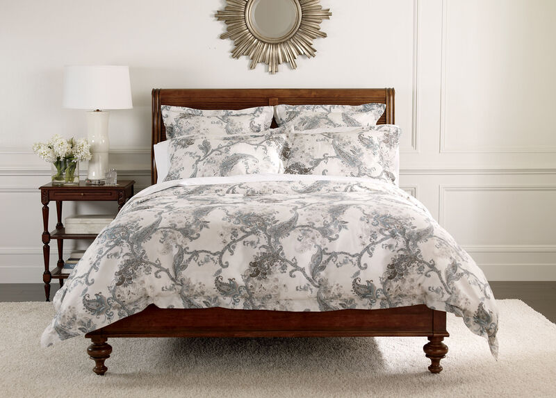 Wynsome Paisley Duvet Cover and Shams ,  , large_gray