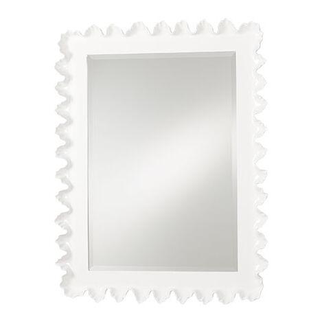 Scalloped Mirror ,  , large