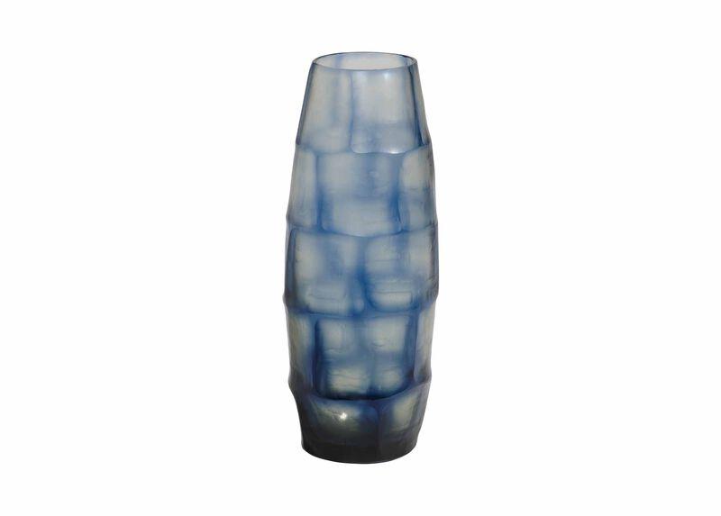 Medium Brayton Indigo Vase | Tuggl