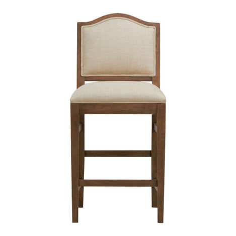 Hayden Counter Stool,  Arched Top and Tapered Leg ,  , large