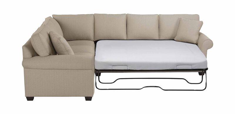 Bennett Roll-Arm Sleeper Sectional