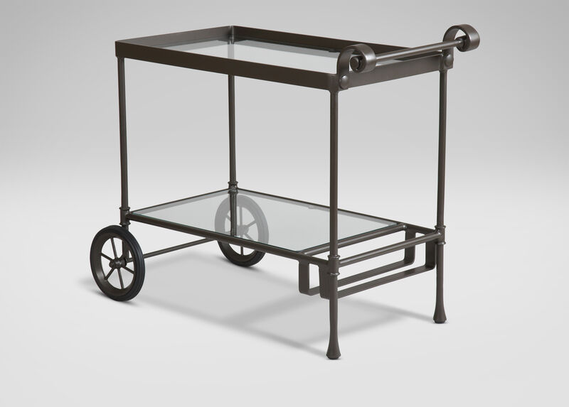 Biscayne Serving Cart ,  , large_gray