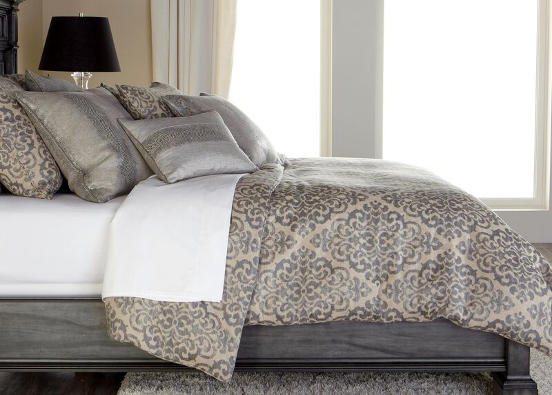 Lucien Scroll Duvet Cover ,  , large_gray