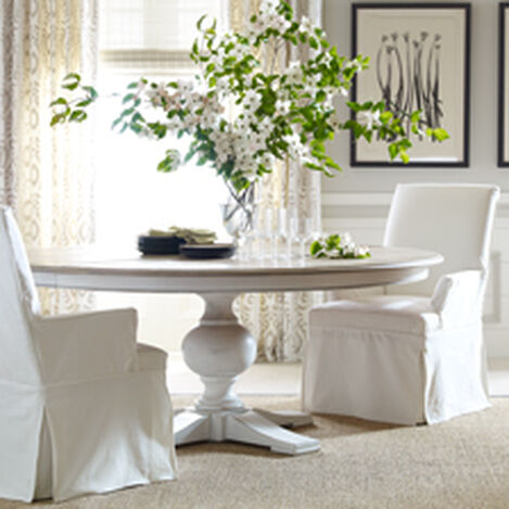 Shop dining room tables kitchen round dining room for V dining room table