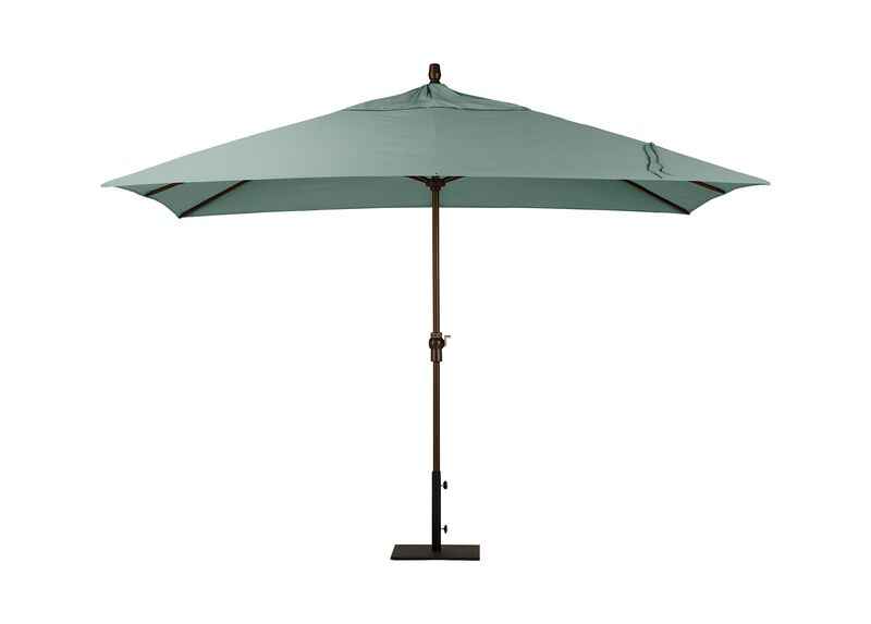 Spa Blue Rectangular Market Umbrella ,  , large_gray
