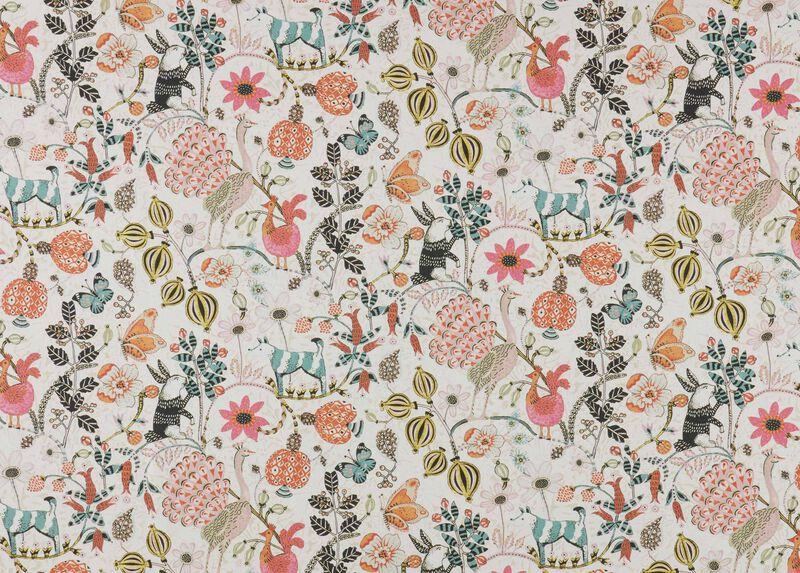 Nicolette Blush Fabric