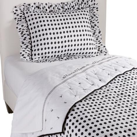 Midi Dotty Comforter and Sham ,  , large
