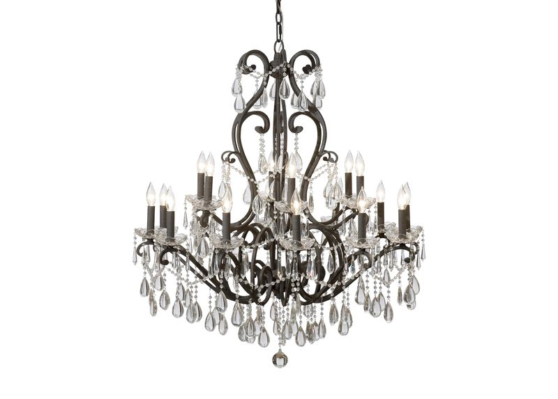 Whitney Slate Chandelier