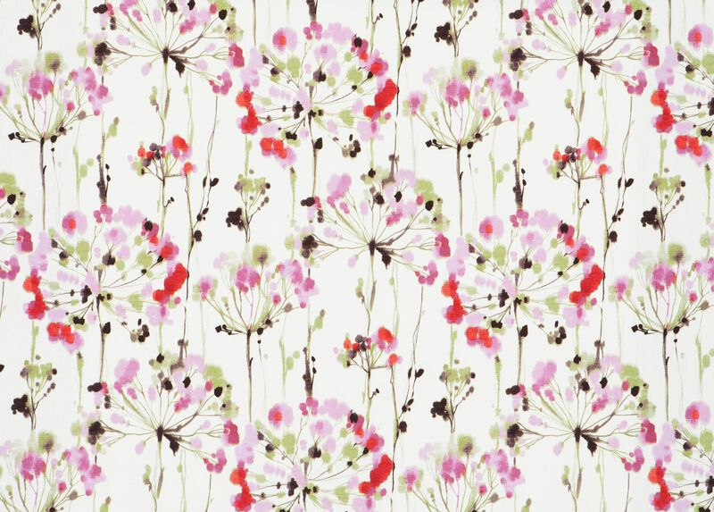 Dandelion Pink Fabric by the Yard ,  , large_gray