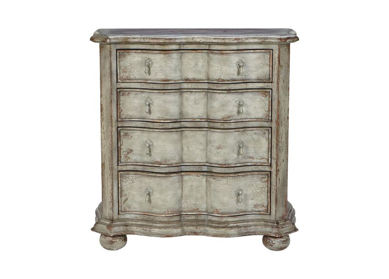 Lucca Serpentine Chest ,  , large_gray