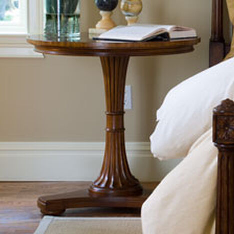 Upton Pedestal Table ,  , hover_image