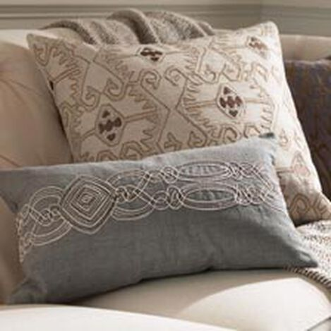 Embellished Rectangular Pillow ,  , hover_image