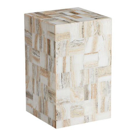 Rakin Onyx Square Stool Product Tile Image 421854