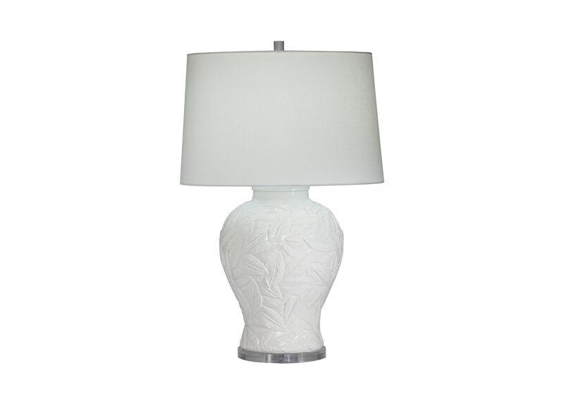 Flora White Table Lamp