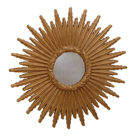"""24"""" Gold Starburst Mirror Product Tile Image 074078A"""