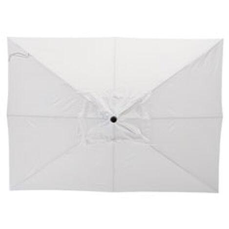 8' x 11' Single Vent White Umbrella ,  , hover_image