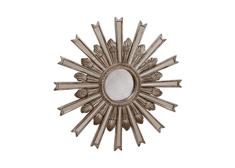 """20"""" Silver Starburst Mirror"""